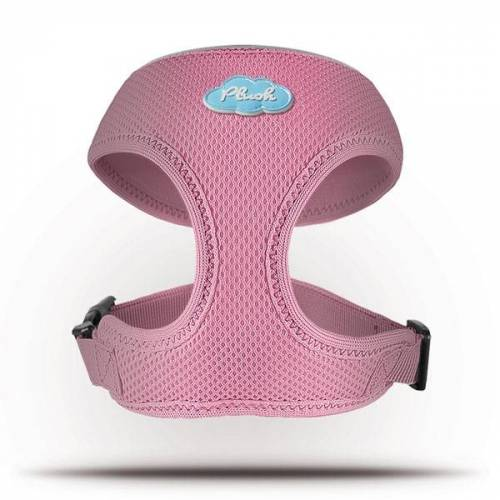 Curli Basic Geschirr Air-Mesh Pink L