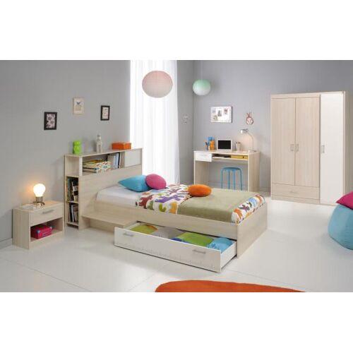Kinderzimmer Set 5-tlg Akazie/Weiß