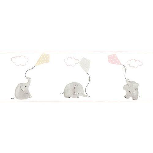 Casadeco My Little World Bordüre Elefanten