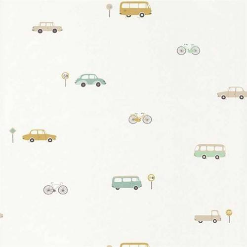 Casadeco Tapete Happy Dreams Auto beige mint
