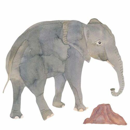 That's Mine Wandsticker Elefant