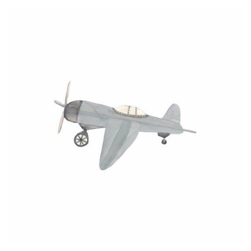 That's Mine Wandsticker Retro Flugzeug Blau