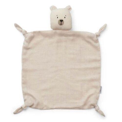 Liewood Kuscheltuch Agnete - Polar bear sandy