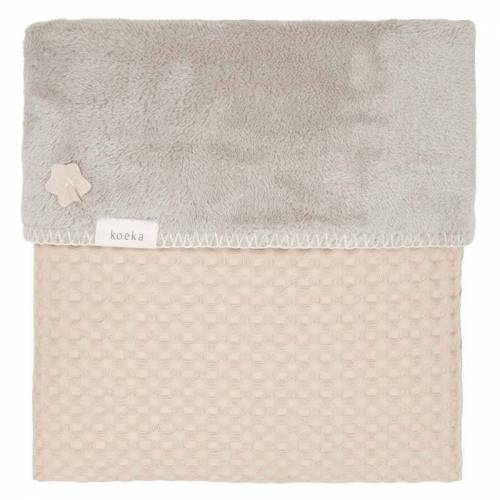 Koeka Babydecke Oslo Sand - Misty Grey 100 x 150 cm
