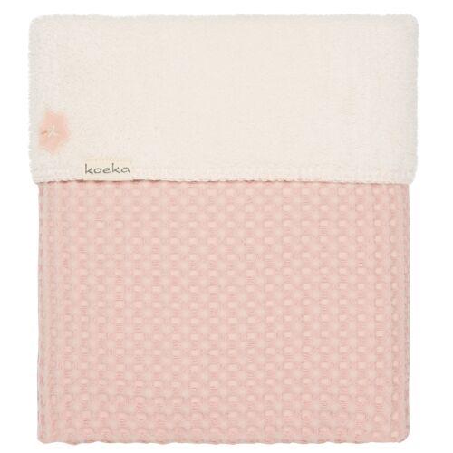 Koeka Babydecke Oslo Shadow Pink 100 x 150 cm