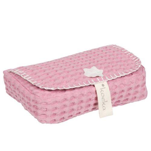 Koeka Feuchttücherbezug Antwerp Blush Pink