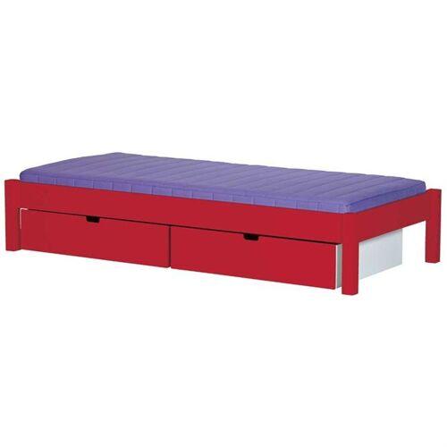 Manis-h Kinderbett Ull mit Bettschubladen 15 Farben