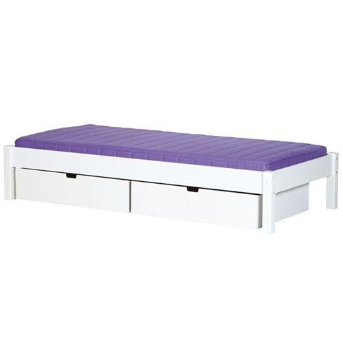 Manis-h Kinderbett Ull mit Bettschubladen