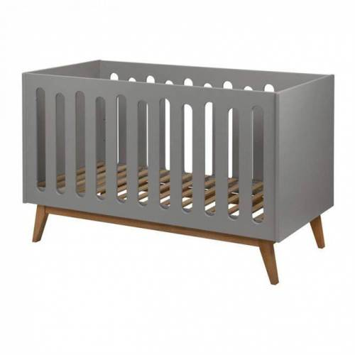Quax mitwachsendes Babybett Trendy Grau