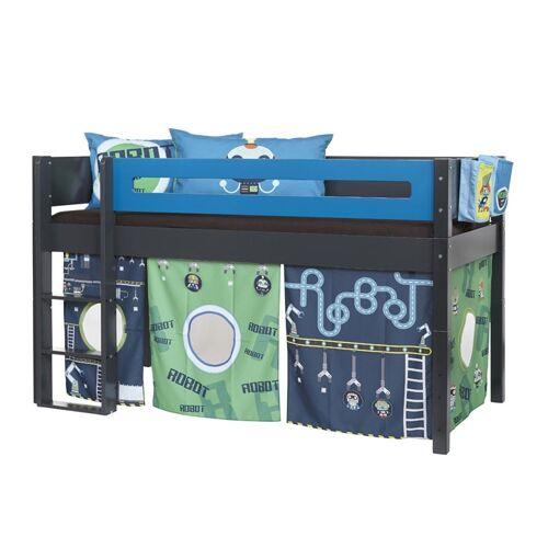 Manis-h Jungen Spielbett Robot mit Bettvorhang