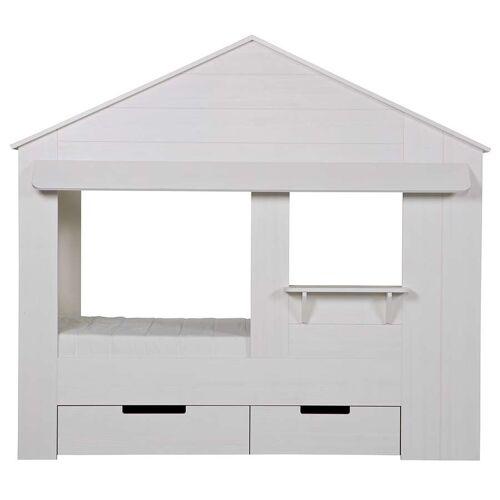 Woood Kinderbett Haus - Hausbett