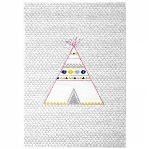 Art for Kids Kinderteppich Tipi