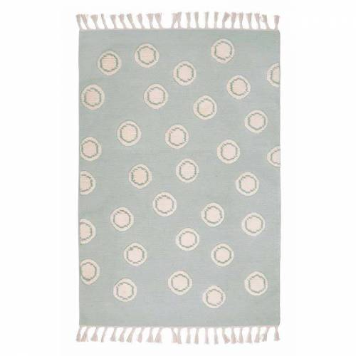 Livone Teppich Happy Rugs Ring Mint/Natur