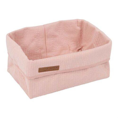 Little Dutch Wickeltischkörbchen Groß Pure & Soft Pure Pink