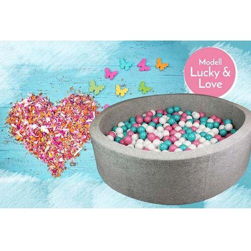 meinbaellebad.de Bällebad Lucky and Love Grau