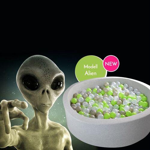 meinbaellebad.de Bällebad Alien Grau