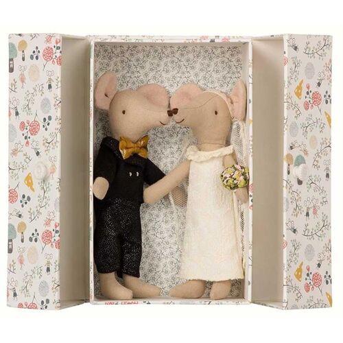 Maileg Braut und Bräutigam in der Box