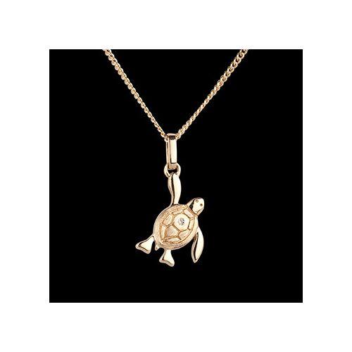 Edenly Baby Schildkröte - petite - Gelgold - 9 Karat