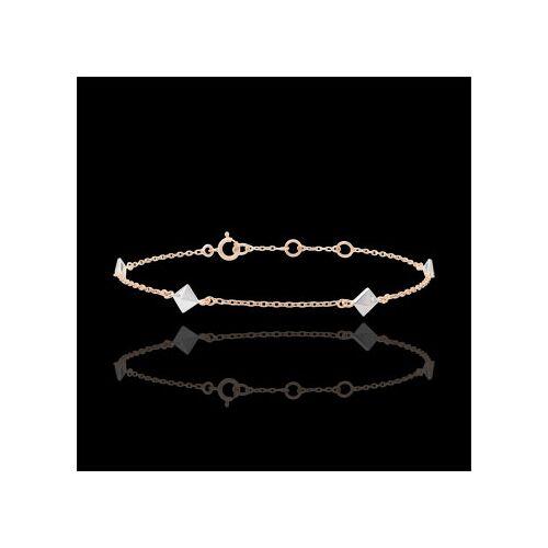 Edenly Armband Schöpfung - Rohdiamanten - Roségold