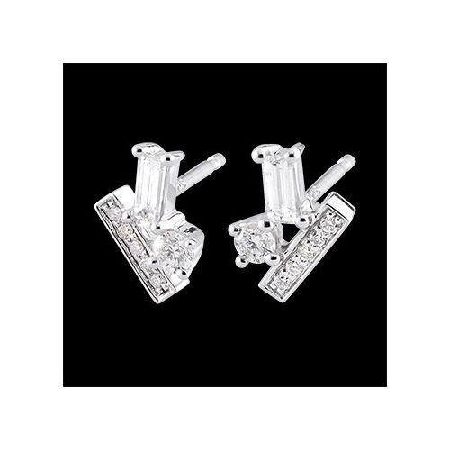 Edenly Diamantohrringe in Kristalloptik