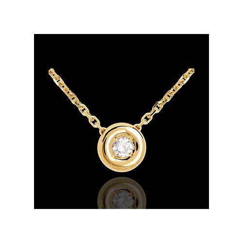 Edenly Gold Collier Kelch mit Diamanten