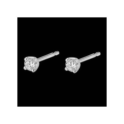Edenly Diamantohrstecker in Weissgold