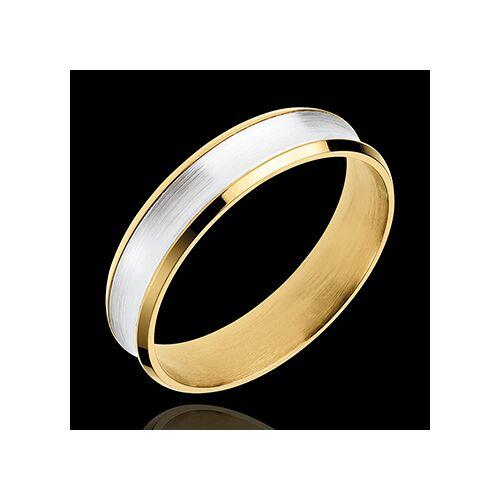 Edenly Ring Dandy aus Gelbgold und Weissgold - 5mm