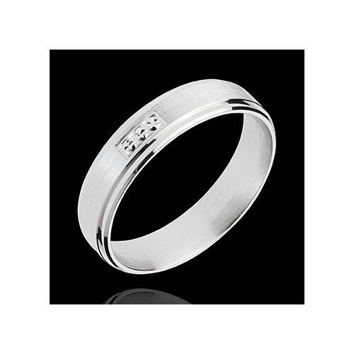 Edenly Ring Goldnugget aus Weissgold