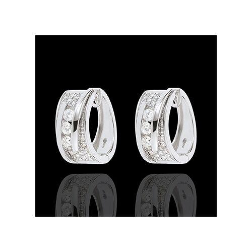 Edenly Ohrringe Zauberwelt - Seiltänzerin - Weißgold - 64 Diamanten - 0.73 Ka