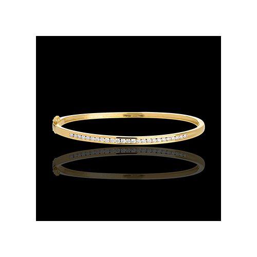 Edenly Armreif Barett in Gelbgold - 0.75 Karat - 25 Diamanten