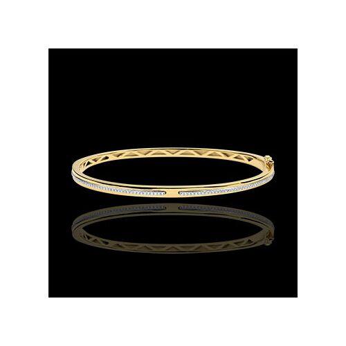 Edenly Armreif Versprechen - Gelbgold und Diamanten - 9 Karat