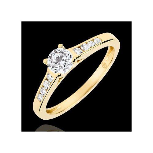 Edenly Solitaire Verlobungsring Altesse - Diamant 0.4 Karat - Gelbgold 9 Karat