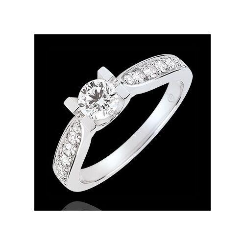 Edenly Solitaire Verlobungsring Comtesse - Diamant 0.4 Karat - Weißgold 18 Kar