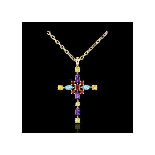 Edenly Anhänger Kreuz - Multicolor