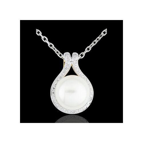Edenly Anhänger Adélie - Perlen und Diamanten