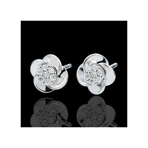 Edenly Ohrringe Blüte - Rosenblüten - 18 Karat