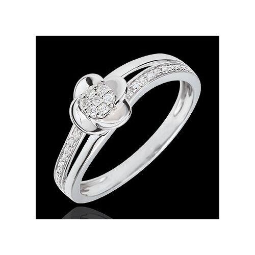 Edenly Ring Blüte - Rosenblüten - 0.075 Karat - 18 Karat