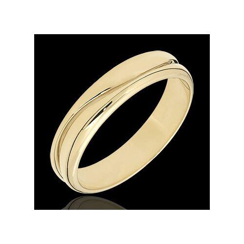 Edenly Ring Amour - Herren Trauring in Gelbgold - 9 Karat