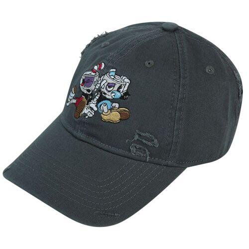 Cuphead Cuphead und Mughead Cap-grau - Offizieller & Lizenzierter Fanartikel grau
