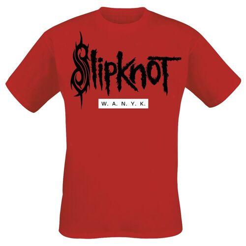 Slipknot We Are Not Your Kind Herren-T-Shirt  - Offizielles Merchandise rot
