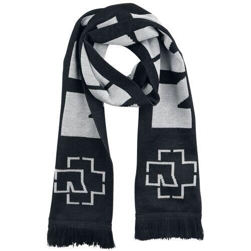 Rammstein Rammstein Schal-schwarz grau - Offizielles Merchandise schwarz