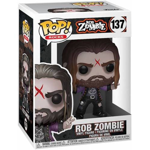 Rob Zombie FUNKO POP Vinylfigur! -  Rob Zombie Rob Zombie Rocks - Funko Pop Vinylfigur-multicolor - Offizielles Merchandise - Offizielles Merchandise multicolor