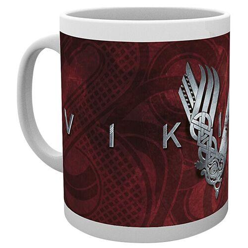 Vikings Vikings Logo Tasse-weiß - Offizieller & Lizenzierter Fanartikel weiß