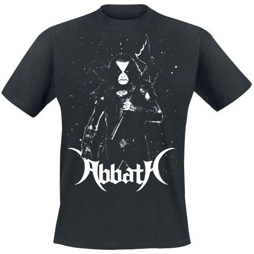 Abbath Blizzard Herren-T-Shirt  - Offizielles Merchandise schwarz