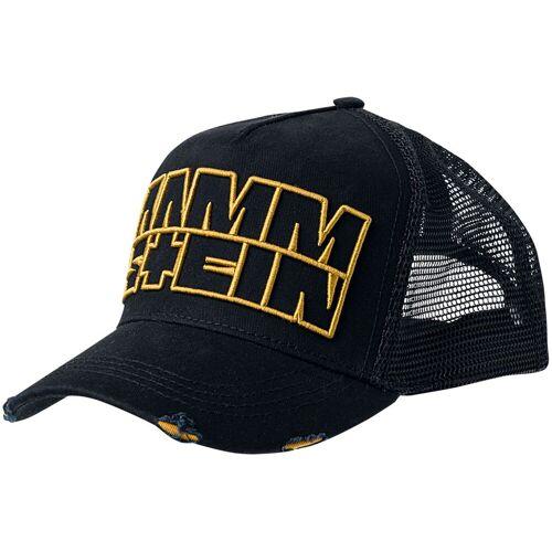 Rammstein Logo Cap-schwarz - Offizielles Merchandise schwarz