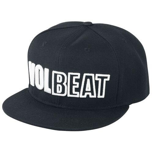 Volbeat Logo Cap-schwarz - Offizielles Merchandise schwarz