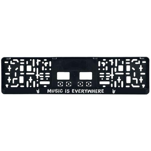 Music Is Everywhere Kennzeichenverstärker-schwarz schwarz