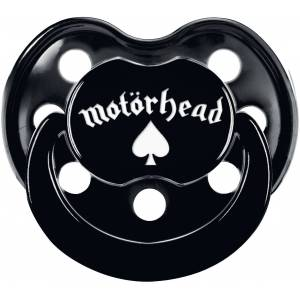 Motörhead Motörhead Logo Schnuller-schwarz - Offizielles Merchandise schwarz