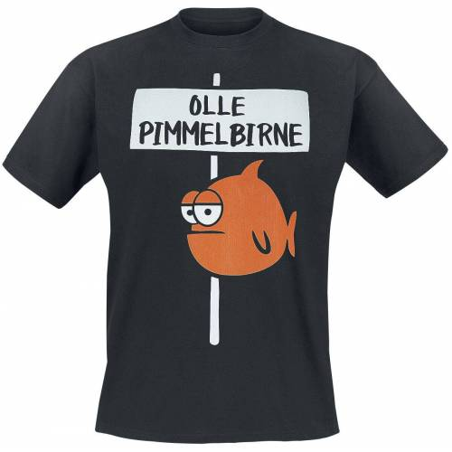 Olle Pimmelbirne Herren-T-Shirt schwarz
