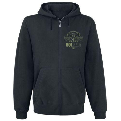 Volbeat RRR Skull Herren-Kapuzenjacke  - Offizielles Merchandise schwarz